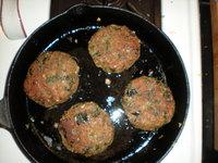 Burger pan