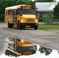 Back to school bus water