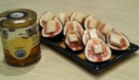 Figs with Parmesan and Truffle Honey