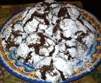 Zebra Fudge Cookies